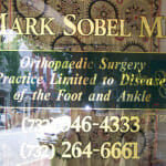 Gold Leaf for Dr. Mark Sobel