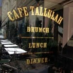 Gold Leaf for Cafe Tallulah