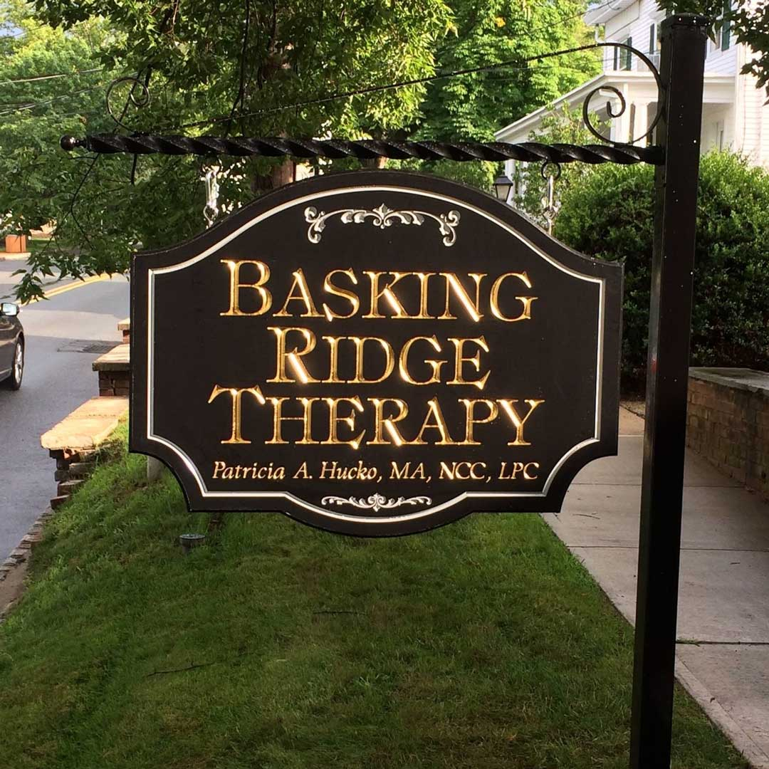 basking-ridge-therapy-carved-sign