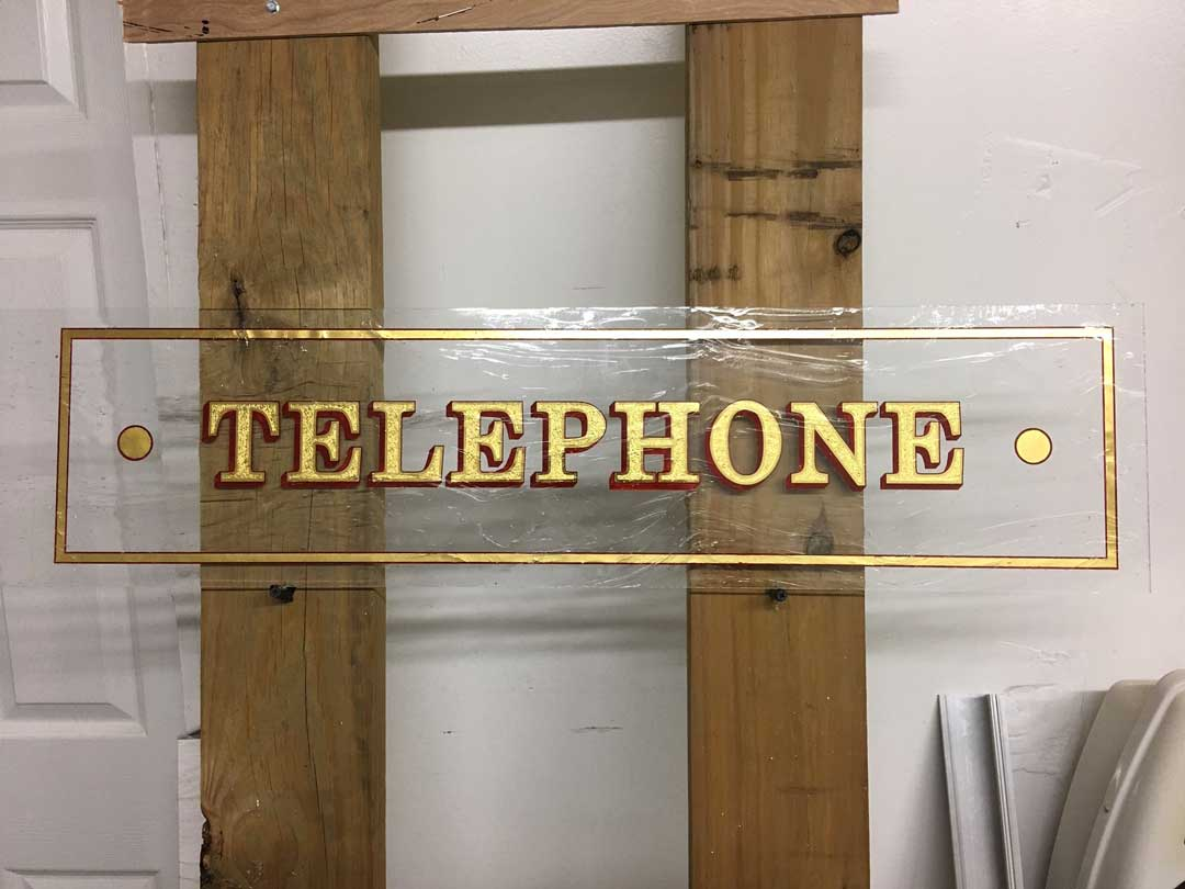 telephone-gold-leaf